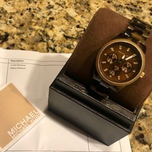 Authentic Micheal Kors watch MK 5038